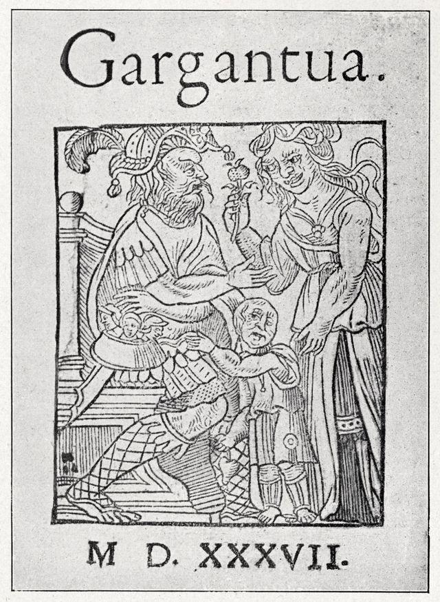 """""""La vie très horrifique du grand Gargantua, père de Pantagruel, jadis composée par M. Alcofribas abstracteur de quintessence. Livre plein de Pantagruélisme"""", ou plus simplement """"Gargantua"""", est le deuxième roman de François Rabelais. Il fut écrit en 1534"""