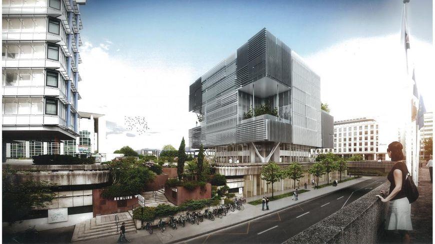 bordeaux un immeuble de bureaux vacu apr s plusieurs malaises de salari s. Black Bedroom Furniture Sets. Home Design Ideas
