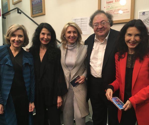 Katia et Marielle Labèque, Isabelle et Florence Lafitte et Frédéric Lodeon