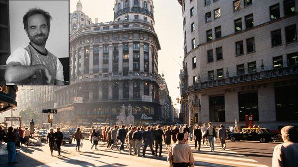 """"""" Buenos Aires - 5 """" pour ensemble instrumental de Facundo Llompart (Diffusion intégrale et portrait)"""