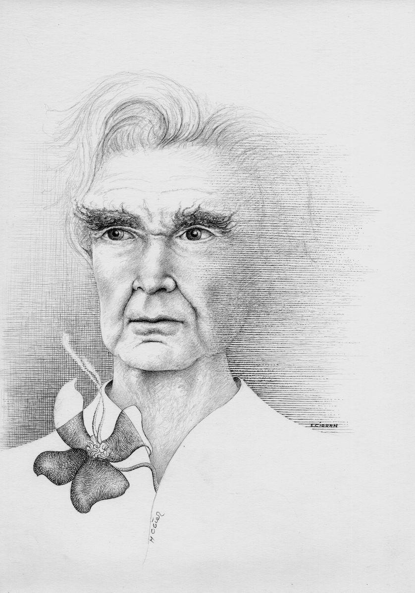 Portrait d'Emil Cioran