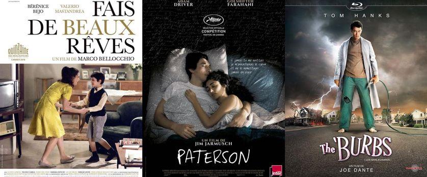 """""""Paterson"""", """"Fais de beaux rêves"""" et """"The 'Burbs"""""""