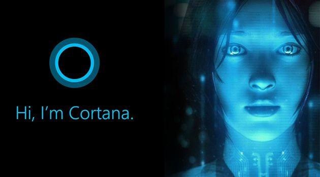 Cortana le robot de Windows 10
