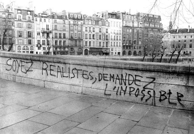 Slogan, le 3 mai 1968