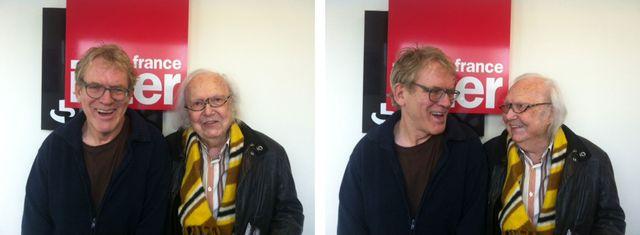 Dick Annegarn et Alain Rey