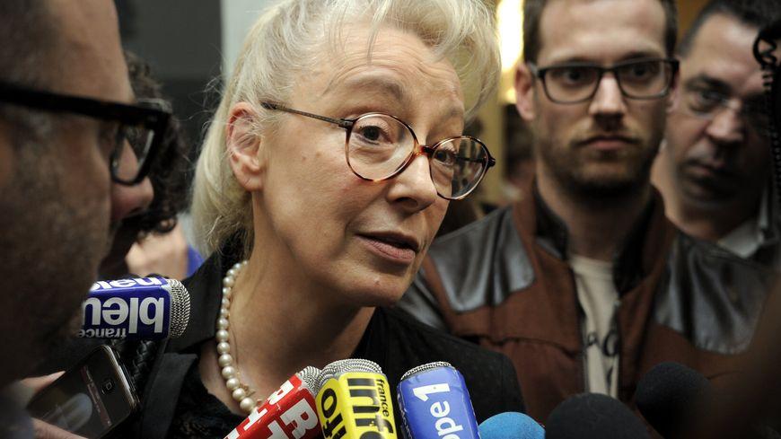 Liliane Glock, l'avocate de Francis Heaulme  à l'ouverture du procès du double meurtre de Montigny-les-Metz