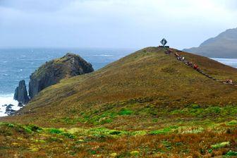Le Cap Horn est une falaise au sud de l'archipel de la Terre de Feu, au Chili