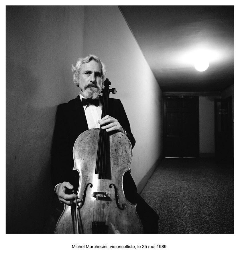 """Photographie de Max Armengaud de la série """"Un portrait de l'Opéra de Paris 1986-1990"""""""
