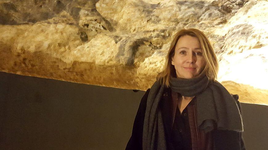Muriel Mauriac, conservatrice de la grotte ne rentre qu'occasionnellement dans Lascaux.