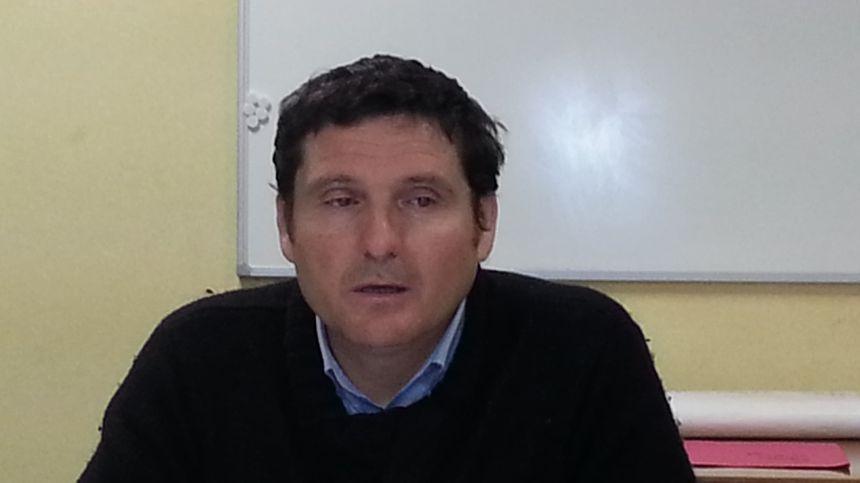 Dominique Larduinat, secrétaire CGT PTT du Cher