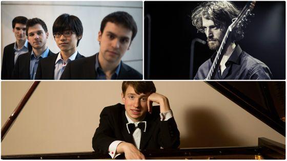 Le Quatuor Niobé, Nicolas Lestoquoy, Julian Trevelyan (DR)