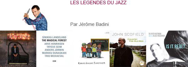 Bandeau Sélection 2016 de Jérôme Badini