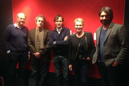Jacques Trentesaux, Mark Lee Hunter, Jacques Monin, Elise Lucet et Fabrice Arfi