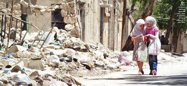 Alep (Syrie) en 2014