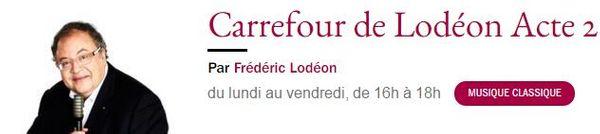 Carrefour de l'Odeon - France Musique