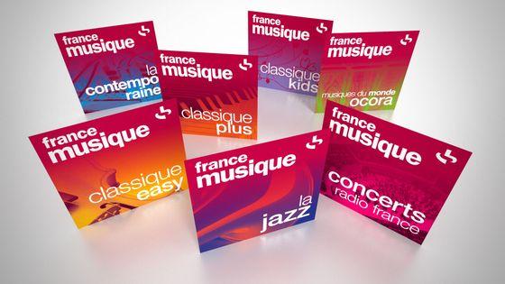 Logos webradios France Musique