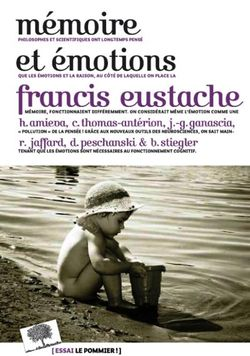 Mémoires et émotions