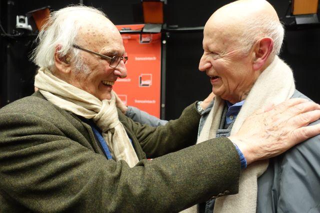 Carlos Saura et Gilles Jacob