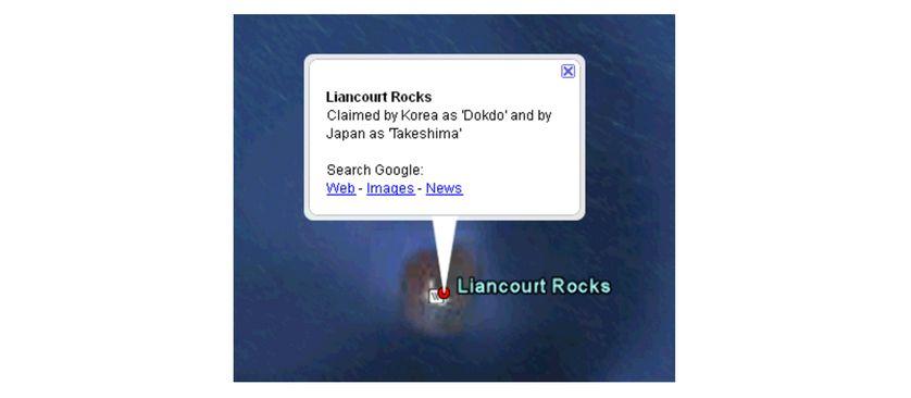Capture d'écran de l'unique exemple mis en avant dans le billet de blog de 2009 posté par Google pour le grand public au sujet des cas litigieux