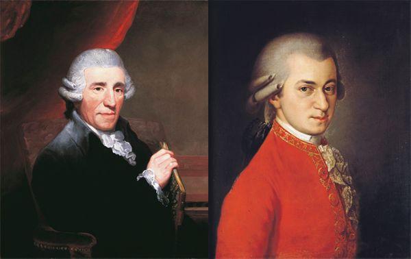 Joseph Haydn (1732 - 1802) et Wolfgang Amadeus Mozart (1756 - 1791) sont les deux principaux représentants du classicisme viennois.