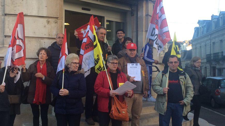 La CGT, FO et SUD PTT avaient appelé à la mobilisation