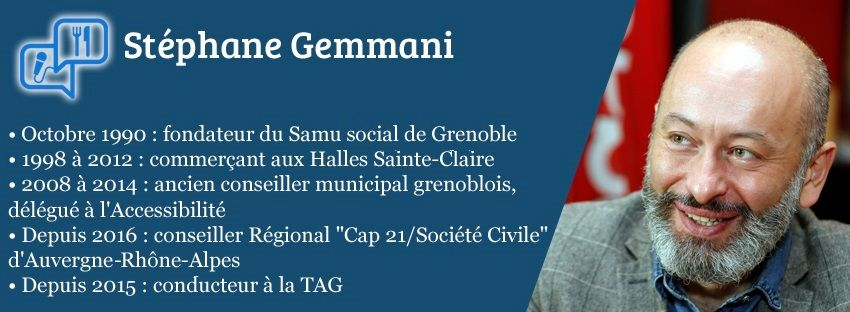 Convive politicien : Stéphane Gemmani, conseiller régional d'opposition