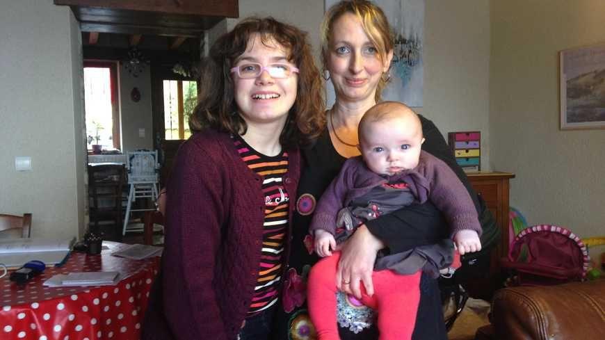 A Bellegarde-en-Marche, Faustine, 13 ans, la fille d'Angèle Podetti a été diagnostiquée autiste cet été