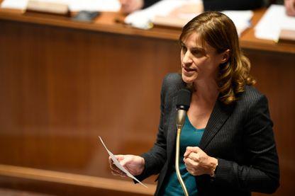 Juliette Méadel pendant la séance de questions au gouvernement en novembre 2016
