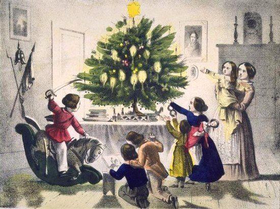Noël, XIXe siècle.