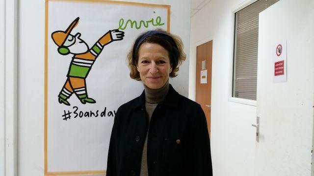 Anémone Bérès, maître de conférences en stratégie d'entreprise à Science Po Paris et présidente de la Fédération ENVIE