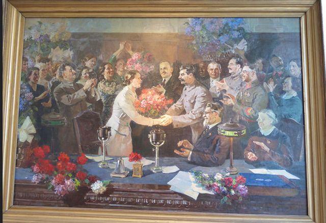 Tableau de  Vassili Yefanov en 1936
