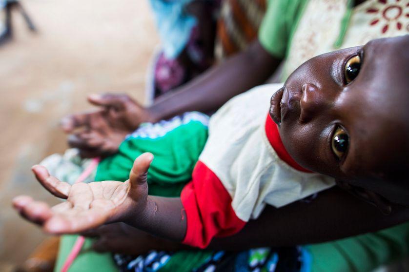 Un enfant à Aweil, au Sud-Soudan