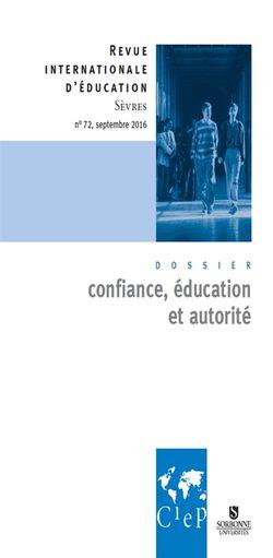 Revue internationale d'éducation