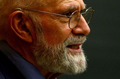 Neurologiste Dr. Oliver Sacks à l'Université de Columbia