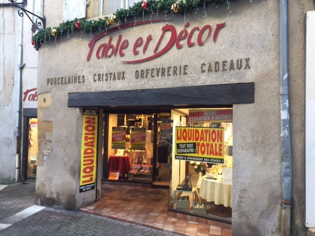 Après 39 ans de présence, ce magasin fermera définitivement ses portes le 31 décembre prochain