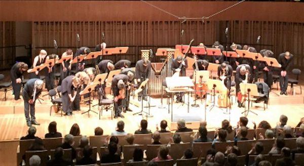 France Musique, Auditorium de Bordeaux, 22 décembre 2016... Ensemble Sagittarius de Michel Laplénie, clap de fin !