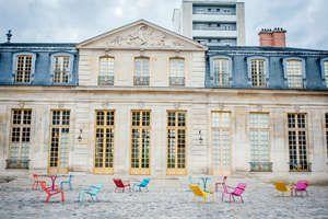 La façade du Pavillon Vendôme à Clichy la Garenne