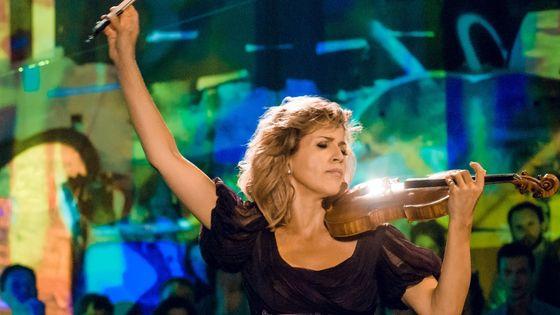 Anne-Sophie Mutter, violon