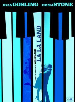 Affiche du film La La Land de Damien Chazelle
