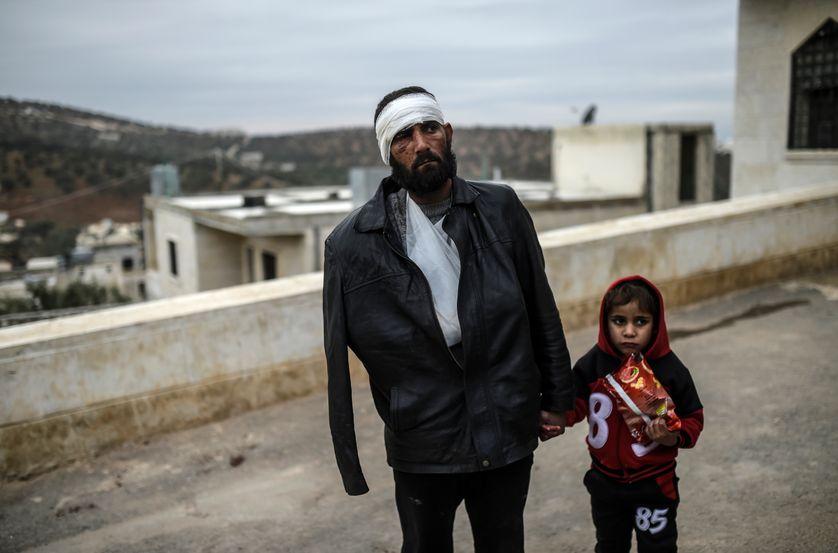 Un scène quotidienne en Syrie, ici à Bab al-Hawa