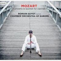 Quintette en La Maj K 581 : Allegretto con variazoni - pour clarinette et quatuor à cordes - Romain Guyot