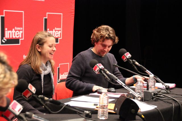 Charline Vanhoenacker et Alex Vizorek en direct d'Angoulême