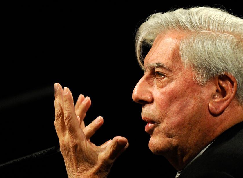 Mario Vargas Llosa en 2010.