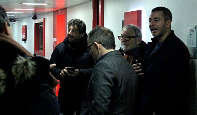 Patrick Bruel, Thomas Legrand, Bernard Guetta et Ali Baddou