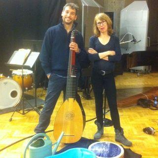 Sophie Bissantz et Bruno Helstroffer