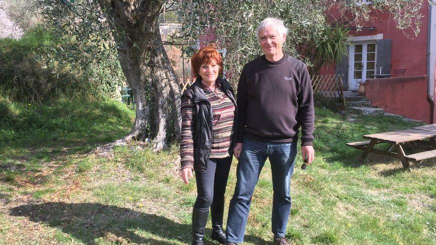 Pour Jacqueline Bellino et Gilles, l'olivier est une passion.