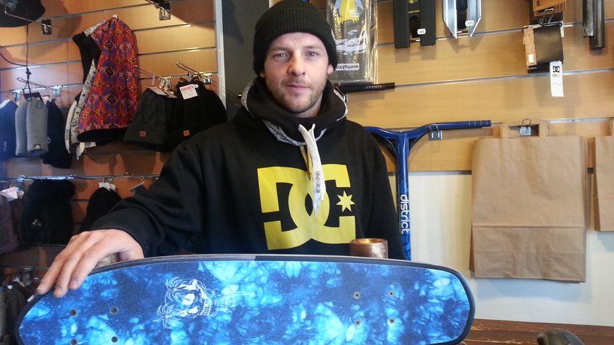 Le gérant de la boutique Wood Board à Valence veut créer un skatepark couvert dans l'agglo