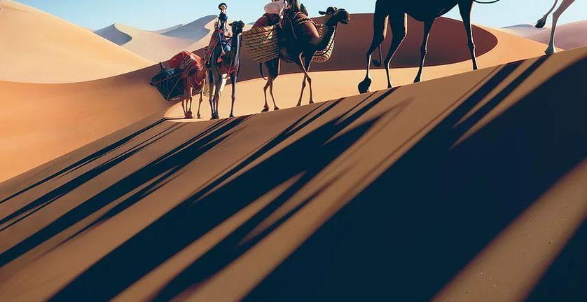 """""""Sahara"""" de Pierre Coré"""