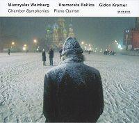 CD Mieczyslaw Weinberg: Chamber Symphonies; Piano Quintet  • Crédits : [ECM]