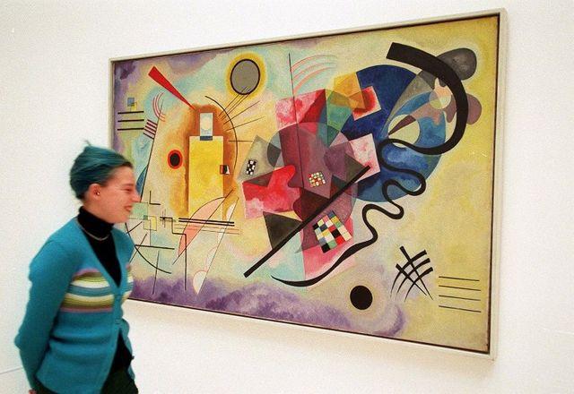 """""""Jaune Rouge Bleu"""" de Kandinsky"""